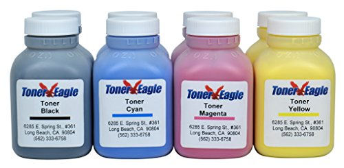 Canon Imageclass Lbp 7200Cdn 7660Cdn Two 4-Color Toner Refill Kit With Chips. 680Gr. By Toner Eagle