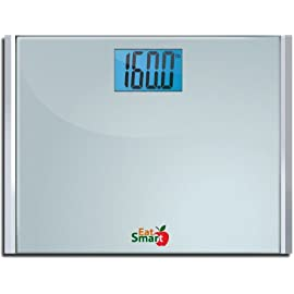 Eatsmart Precision Plus Digital Bathroom Scale with 15