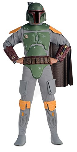 Star Wars Boba Fett Deluxe Costume With Cape