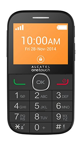 Alcatel One Touch OT 20-04G Telefono Cellulare, Nero