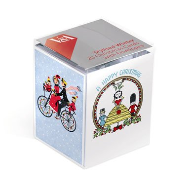 Novelty Pack of 20 Christmas Cards (Mini Box)||RF10F