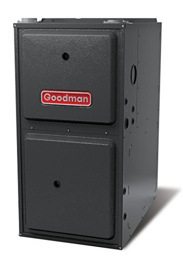 "Goodman GMSS960803BN Single Speed 1-Stage Upflow/Horizontal Gas Furnace with Low Nox, 96% Afue, 80,000 Btu/H, 1,200 Cfm, 175"" Width"