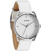 Nixon Mellor Watch Silver/White, One Size