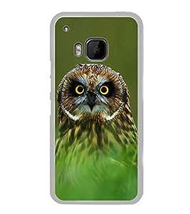 Owl 2D Hard Polycarbonate Designer Back Case Cover for HTC One M9 :: HTC One M9S :: HTC M9 :: HTC One Hima
