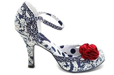 F10147C Ruby Shoo Clara Womens High Heel Wedding Guest Style Shoes Size Uk 8