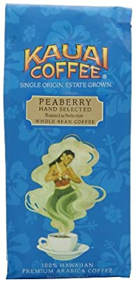 Kauai Coffee Dark Roast Whole Bean 10 Ounce by Kauai