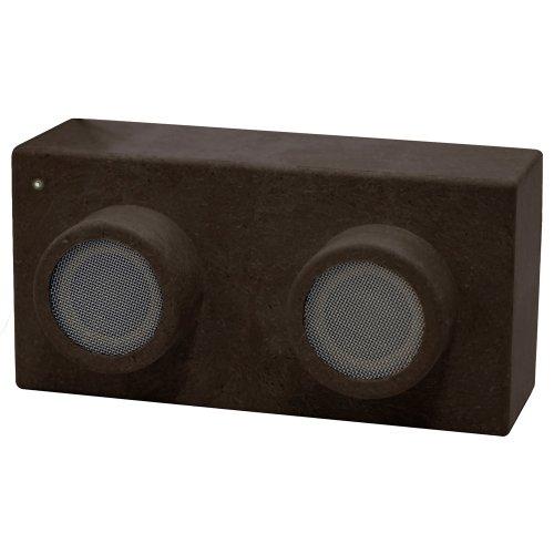 COLORS MS-RBS01CB Earth Block Phone Speakers - Retail Packaging - Natural Coffee Bean Skin