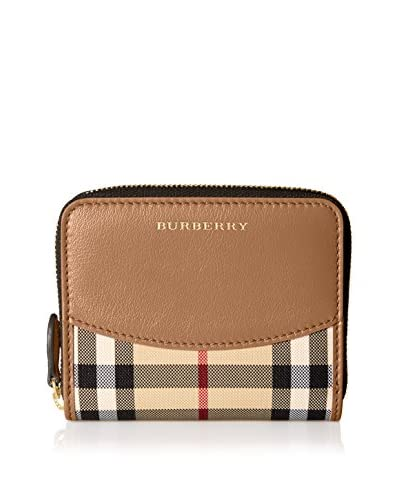 Burberry Women's Zip Wallet, Brown