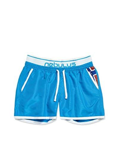 Nebulus Shorts da Bagno Malibu [Blu]