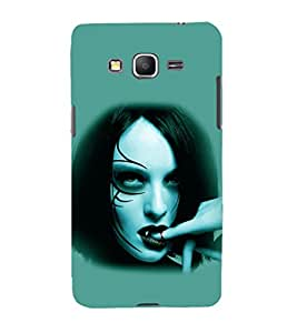 printtech Vampire Girl Blood Back Case Cover for Samsung Galaxy Grand Prime G530h