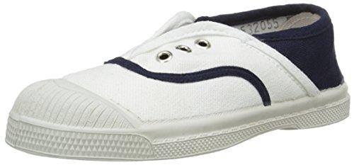 Bensimon - Elly, Scarpe da ginnastica Unisex - Bambini, Bianco (Blanc (101 Blanc)), EU 30