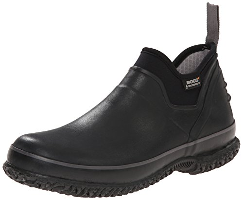 Bogs Men's Urban Farmer Waterproof Work Boot,Black,13 M US (Mens Low Profile Boots compare prices)