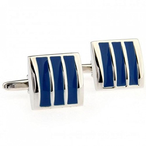 EZON-CH Tzg03428 Enamel Cufflink 1 Pair For Man And Women