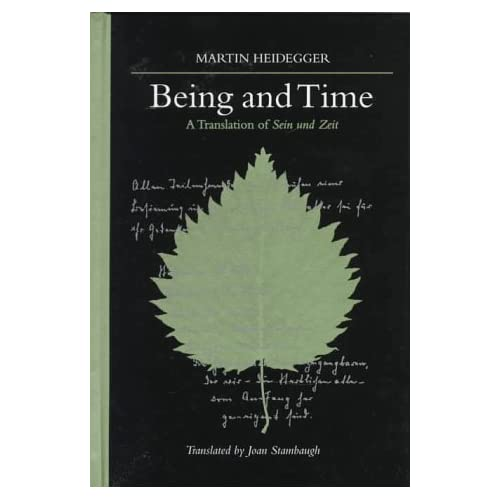 Cover of Being and Time - Martin Heidegger