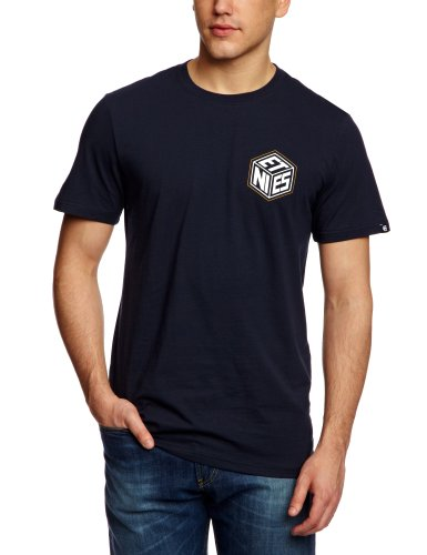 Etnies Cubed Shortsleeve Printed Men's T-Shirt Navy X-Large