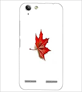 PrintDhaba Mapple Leaf D-5597 Back Case Cover for LENOVO VIBE K5 PLUS (Multi-Coloured)