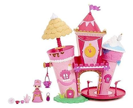 Lalaloopsy Minis – Château de Princesse – Mini Maison de Poupée + 1 Poupée 7 cm