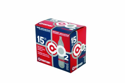 Crosman 12 Gram CO2 (15 Cartridges)