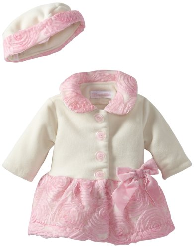 Bonnie Baby Baby Girls Dog Applique Jumper Set