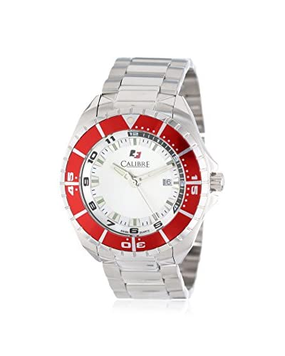 Calibre Men's Sea Knight White Stainless Steel Watch