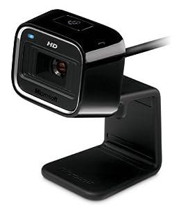 Microsoft LifeCam HD 5000 Webcam HD 720p filaire Format 16:9 Technologie TrueColor Noir