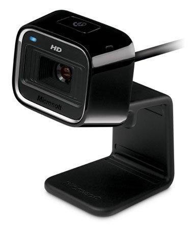 Microsoft LifeCam HD-5000 Webcam (Black)
