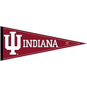 Buy Indiana Hoosiers Official Logo Full Size Felt Pennant by WinCraft