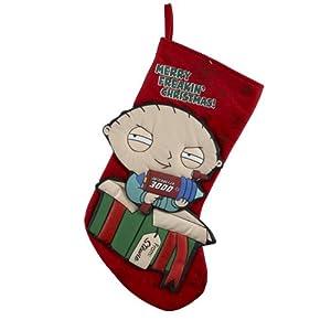 Kurt Adler Family Guy Stewie In Present Christmas Stocking at Sears.com