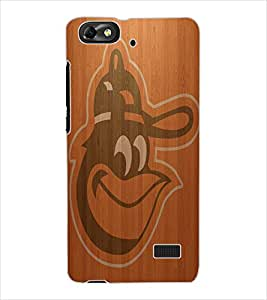 ColourCraft Wood background Design Back Case Cover for HUAWEI HONOR 4C