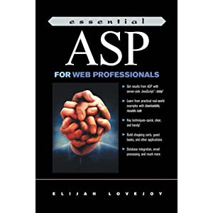 Essential ASP for Web Professionals (Essential Web professionals)