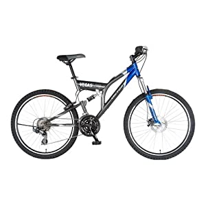 Victory Vegas Low Adult Dual-Suspension Mountain Bike