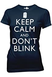 Doctor Who Keep Calm And Don't Blink Juniors T-shirt