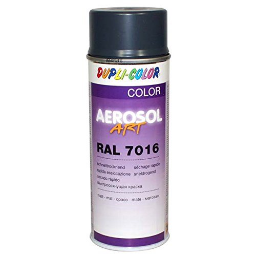Duplicolor 741517 spray a rosol art ral 7016 mat 400 ml - Ral 7016 peinture ...