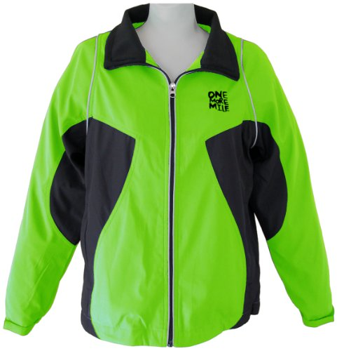 "One More Mile"" Women's Customized Runner's Jacket"