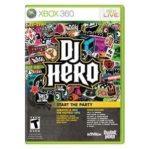 NEW DJ Hero 1 X360 (Videogame Software)