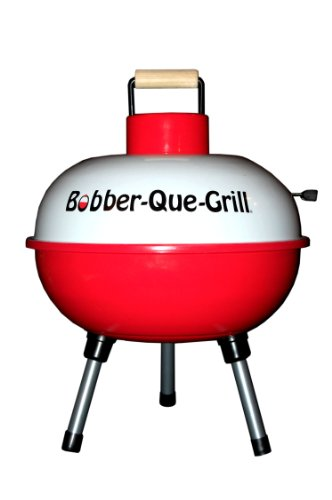 Charcoal Grill (Camping, Fishing, Tailgating) 14″ Portable Bobber-Que-Grill
