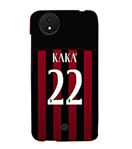 PRINTVISA Football Kaka Brazil Case Cover for Micromax Canvas Android A1
