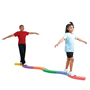 Amazon.com : BSN Gymnastics Curve-A-Beam : Toy