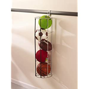 Click to buy Garage Storage Solutions: Sports Ball Rack from Amazon!