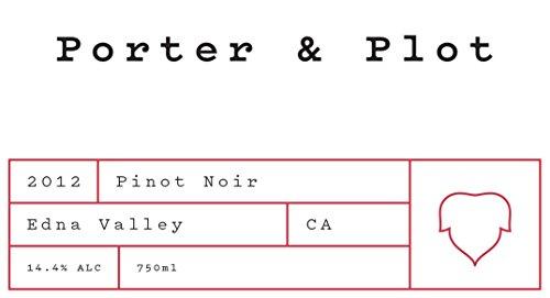 2012 Porter & Plot Pinot Noir 750 Ml