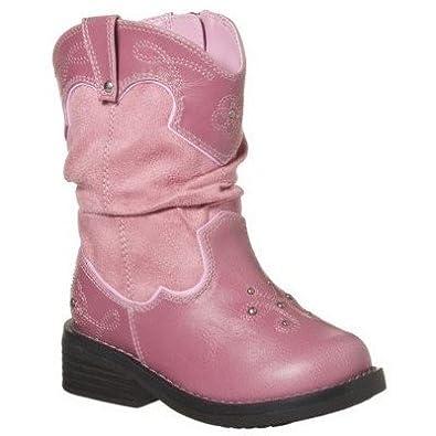 Amazon.com: Circo Deloria Studded Pink Cowboy/Cowgirl