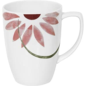 Corelle Square 12-Ounce Mug, Pretty Pink