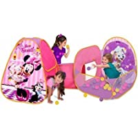 Playhut Disney Minnie Mouse Playzone Durable Fun Colorful Pretend Play Tunnel Ten For Girls