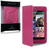 Asus Google Nexus 7 Folio PU Leather Case / Cover / Pouch / Holster By Terrapin - Hot Pinkby TERRAPIN