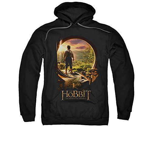 The Hobbit Desolation of Smaug Movie Hobbit In Door Adult Pull-Over Hoodie