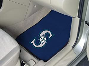 Seattle Mariners universal fit Carpet 2 Pc Car Floor Mat (Rug) by Fanmats