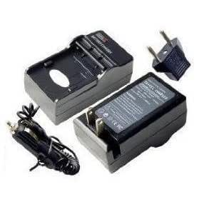 MH-18a Nikon - Replacement A/C D/C Rapid Battery Charger forD100, D200, D300, D300s, D50, D70, D700, D70s, D80, D90, DSLR D70 (Incl. Car Cord and European Plug Adapters)