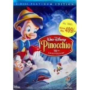 Amazon.in: Buy Pinocchio - 70th Anniversary - Platinum ...  Pinocchio 70th Anniversary Edition Dvd
