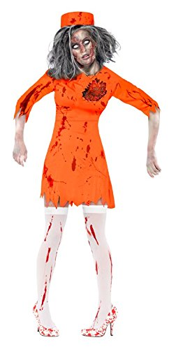 Smiffys Women's Zombie Death Row Diva Costume