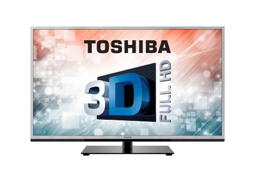 Toshiba 40TL963B 40-inch Widescreen Full HD 1080p LED 3D Smart TV with Freeview (Old model)